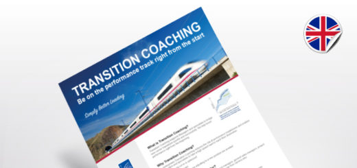 Flyer TRANSITION COACHING | Be on the performance track right from the start