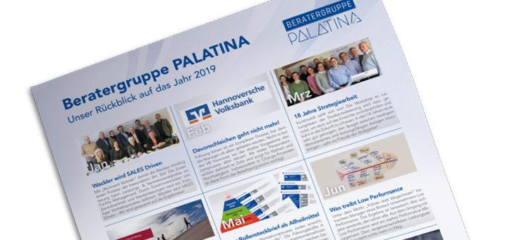 Beratergruppe PALATINA - Jahresrückblick 2019