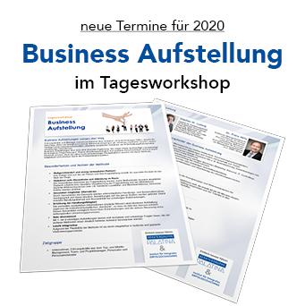 Business Aufstellungen 2020: neue Termine für Tagesworkshops